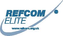 Refcom Elite Logo with website